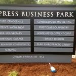 custom monument directory signage burlington ma