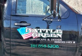 custom truck lettering lexington ma vehicle branding boston