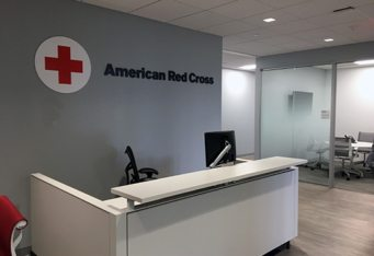 red cross medford ma 3d wall logo