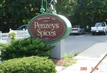 monument exterior business signage sandblasted business sign monument sign boston arlington ma