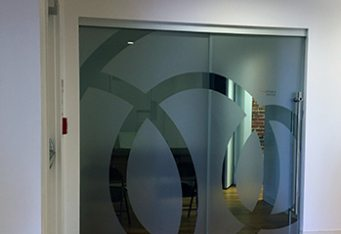 etched window graphics frosted vinyl boston etched glass signage