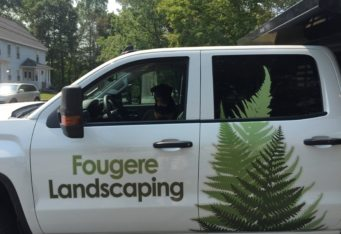 landscape truck lettering vehicle lettering vehicle graphics burlington ma
