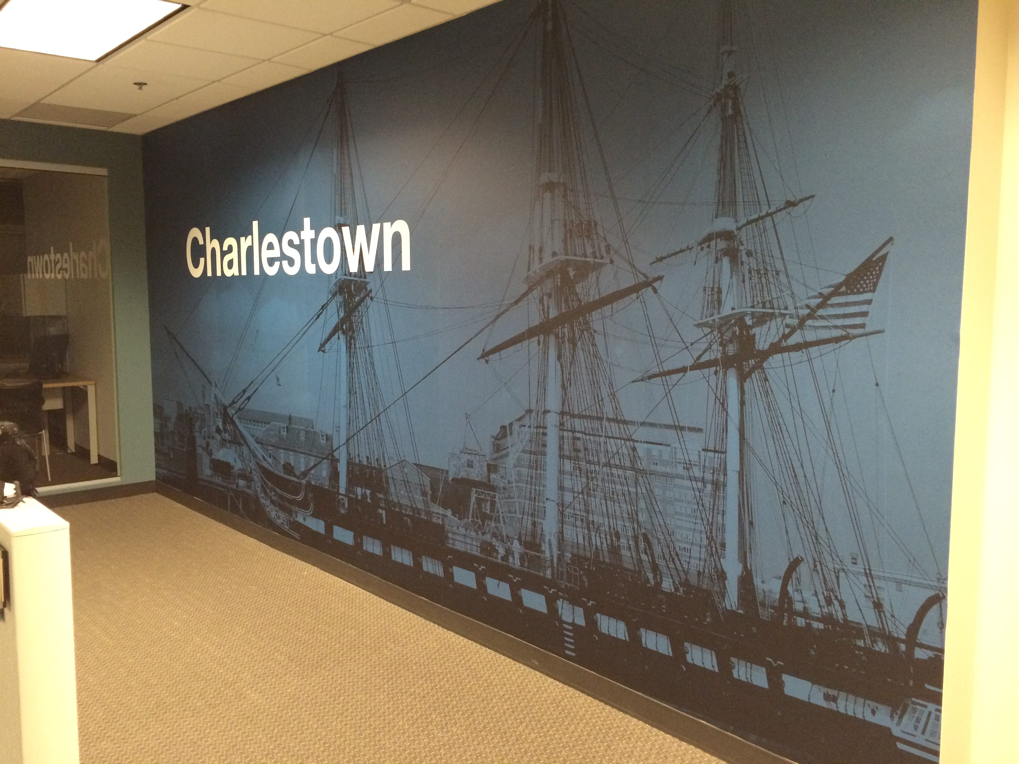 Wall Murals Wall Graphics by Lexington Signs Graphics in Boston