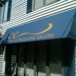 salon awning signage lexington ma commercial awning canopy