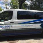 school van wrap boston ma pingree van graphics