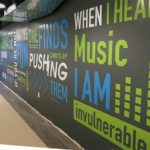 gym wall graphics indoor cycling massachusetts wall mural sign projects