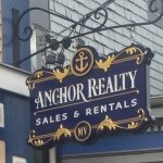 custom hanging business sign Boston ma gold leaf signage carved sign new England carved sign