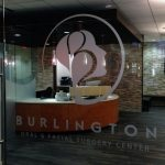 dental office vinyl window graphics burlington ma architectural glass graphic identity boston