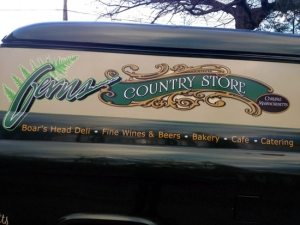 hand painted panel van graphics sign painting lexington ma
