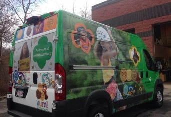 vehicle wrap boston truck wrap vinyl truck graphics van wrap