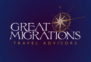 great migrations logo design