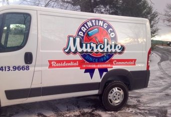 custom van lettering and graphics boston commercial lettering