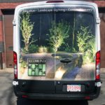 van wrap vehicle lettering boston