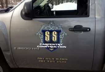 truck lettering design lexington ma