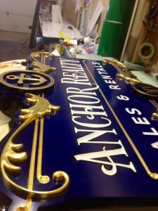 sign design carved sign gold leaf business signs boston ma