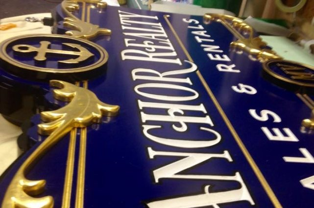 sign design carved sign gold leaf business signs lexington ma