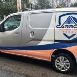 vehicle wrap truck wrap van wrap construction lettering truck graphics sign projects burlington